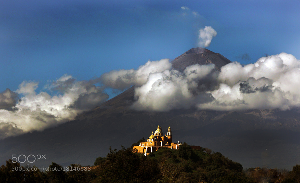 Photograph Clouds and volcano by Cristobal Garciaferro Rubio on 500px