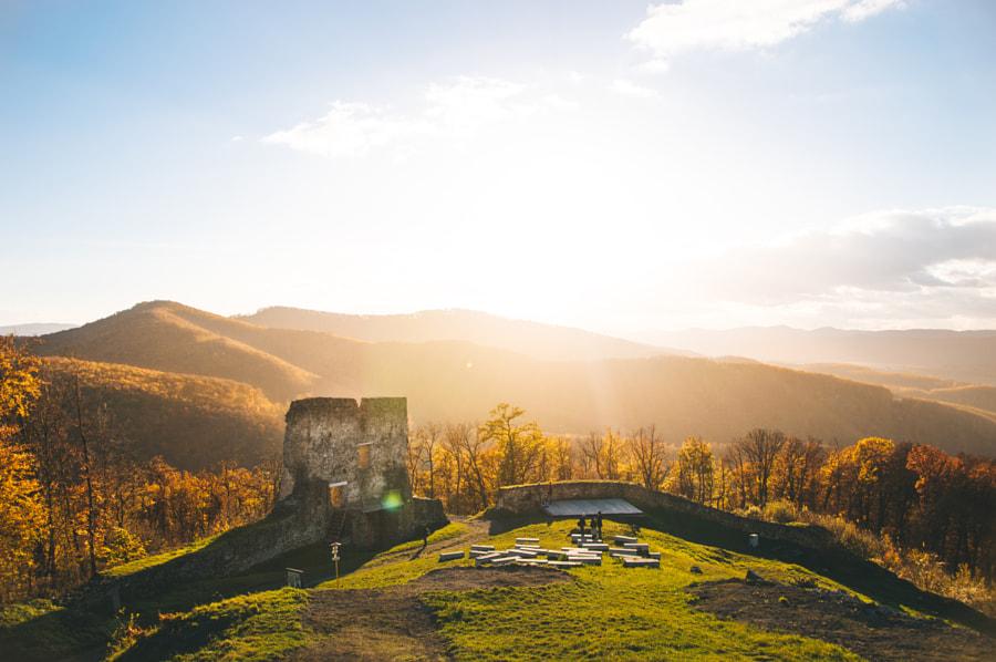 Pustý hrad by Tomáš Valach on 500px.com