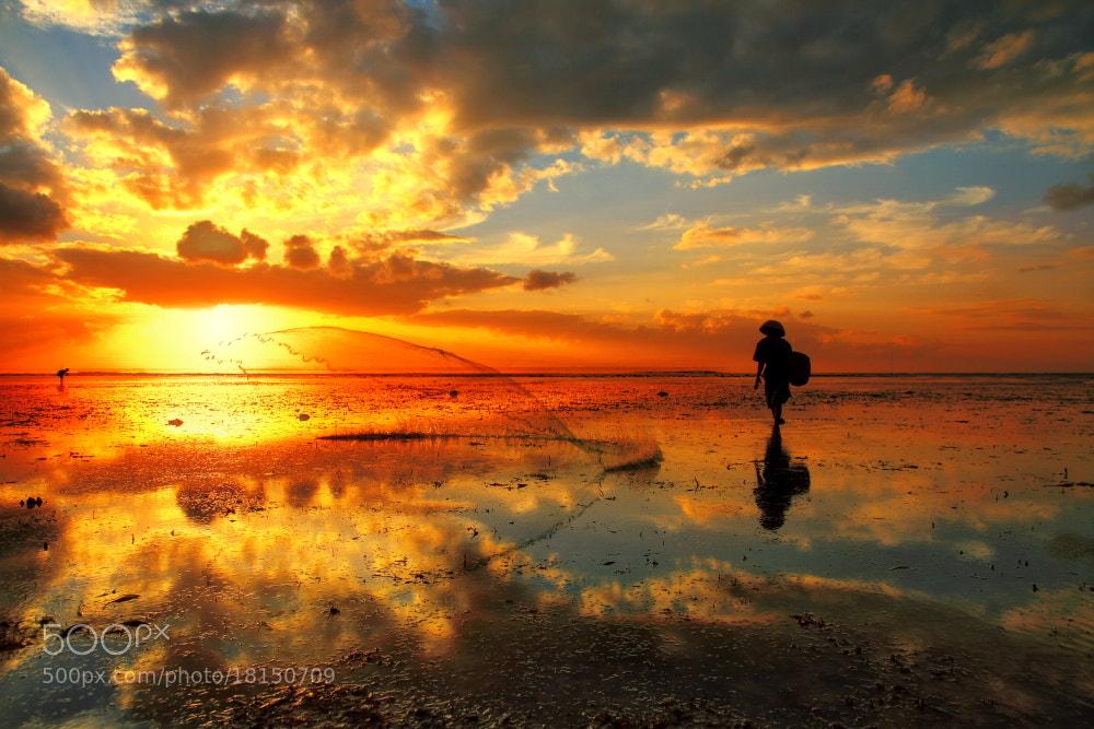 Photograph Morning Catch by Alit Apriyana on 500px