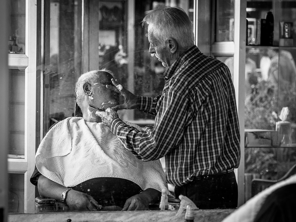 Photograph The Barber by Andreas Kollmorgen on 500px
