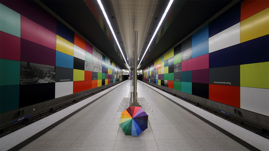The right umbrella by Stefano Landenna on 500px.com