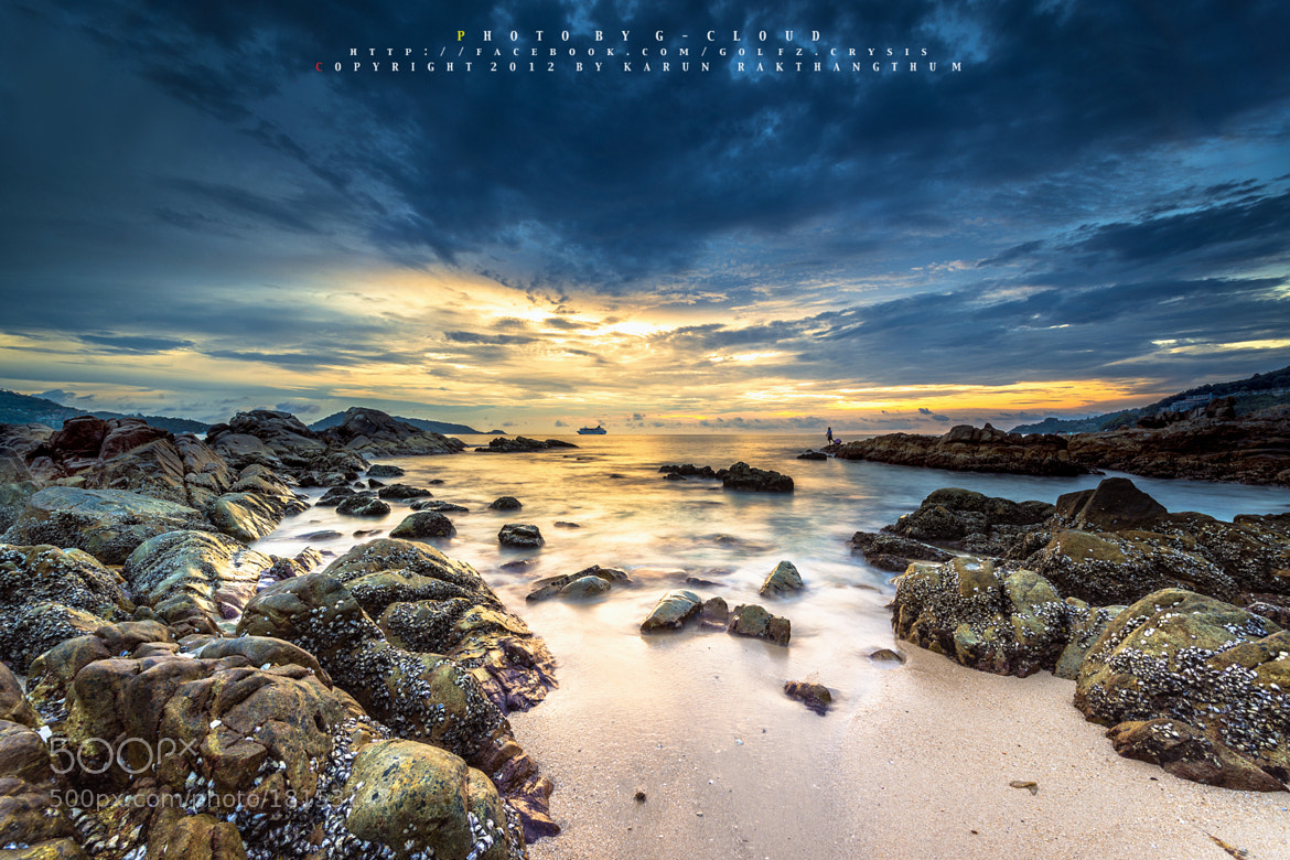 Photograph Gold Sea by Golfzx Cloud on 500px