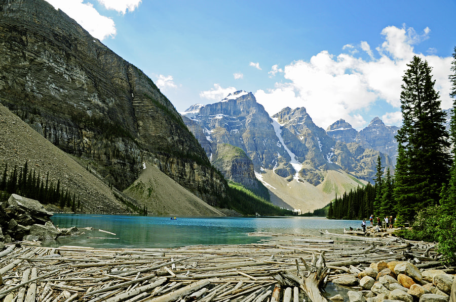Moraine Lake, Alberta by Dave Fitzsimmons on 500px.com