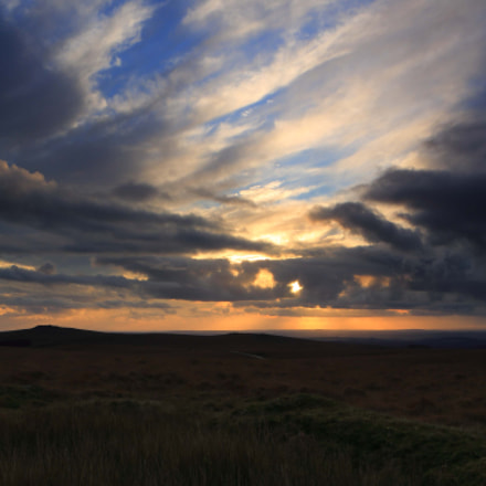 Dartmoor Sunset No1
