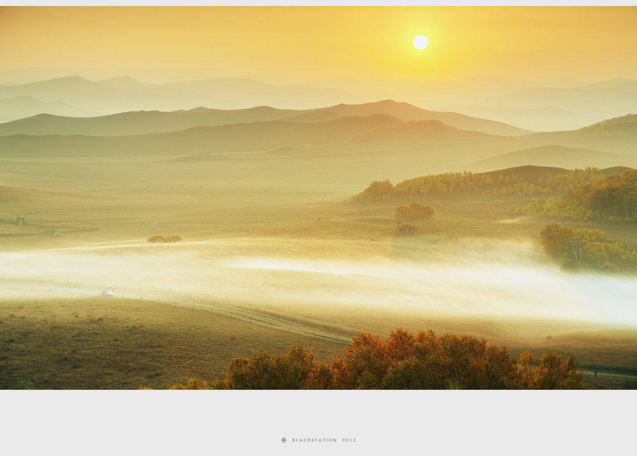 Photograph the golden fog by Black Station on 500px