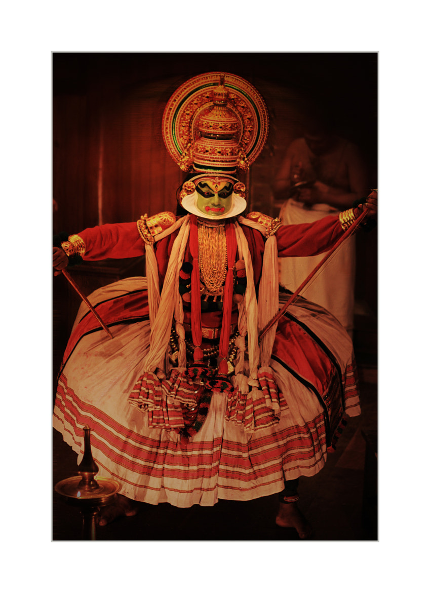 Photograph Kathakali-An art form of Kerala by Mamatha M on 500px
