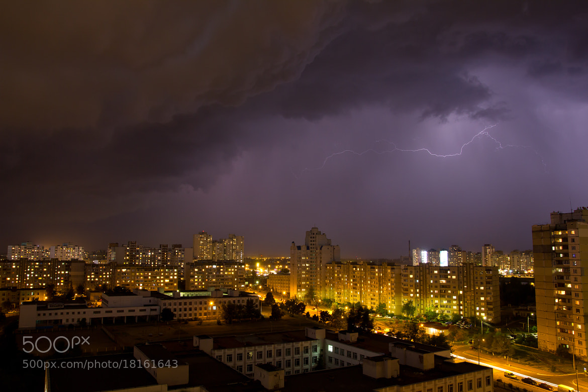 Photograph Lightning at night sky by Fedor Petrovskiy on 500px