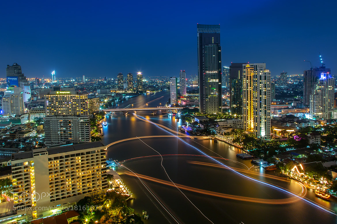 Photograph chaophaya River Bangkok by Arthit Somsakul on 500px