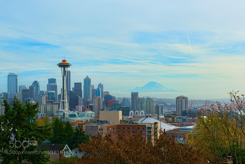 Photograph Seattle + Rainier by David Kosmos Smith on 500px