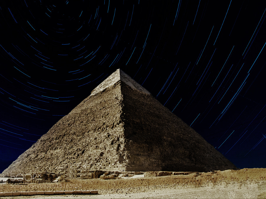Photograph Stars Love Pyramids by jamil ghanayem on 500px