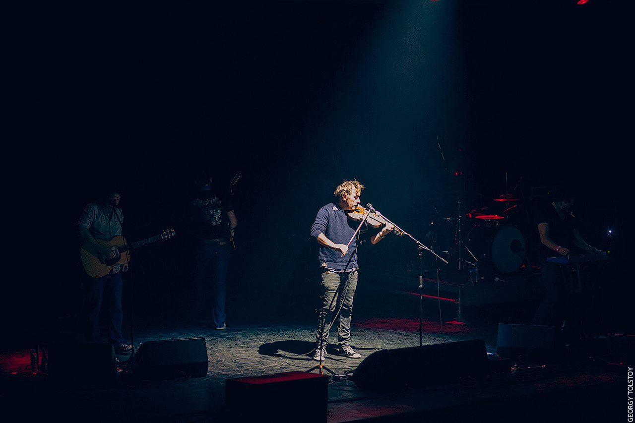 Photograph Yann Tiersen in A2 / 06.10.2012 by Georgy Tolstoy on 500px