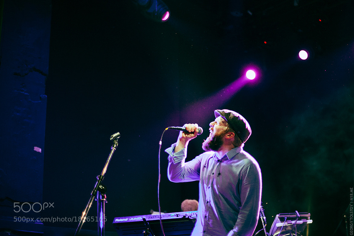 Photograph Alex Clare in A2 / 06.11.2012 by Georgy Tolstoy on 500px