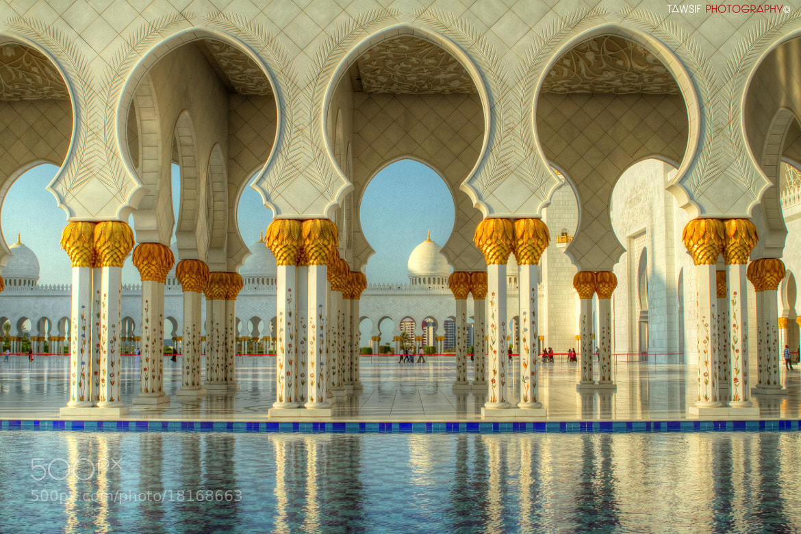 Photograph Sheikh Zayed Grand Mosque of Abu Dhabi, UAE by Tawsif Alam Khan on 500px