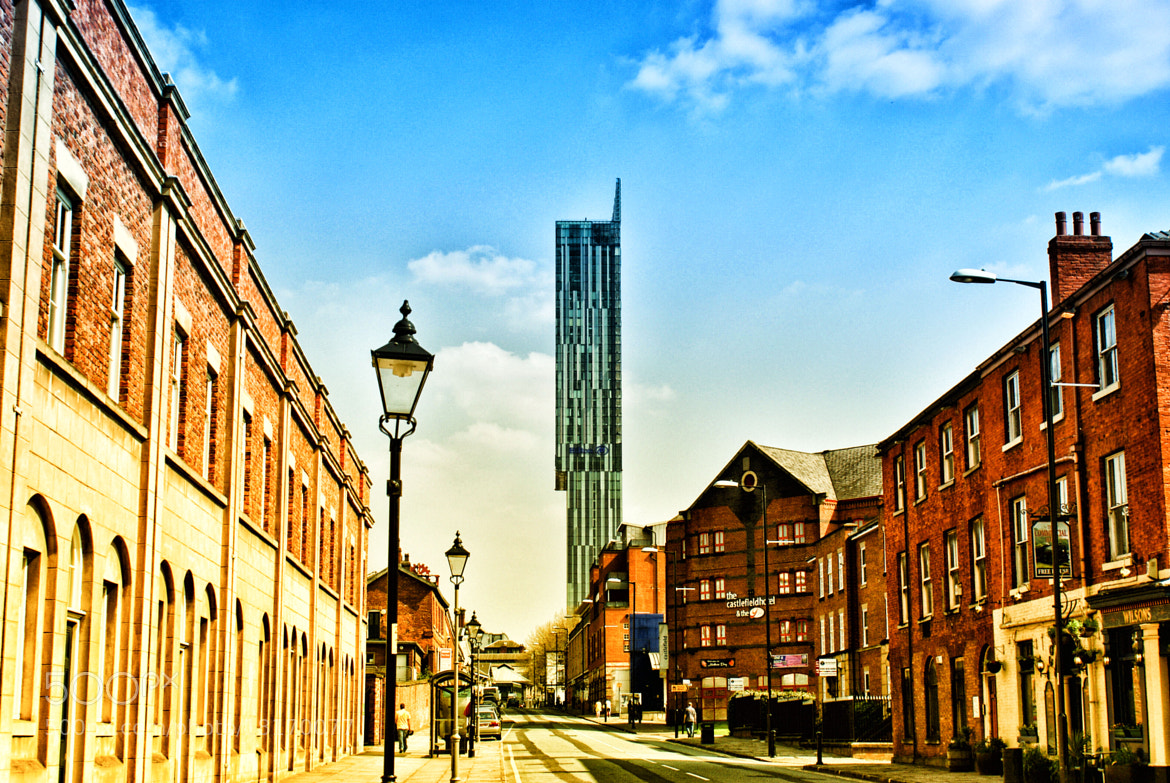 Photograph Manchester - Beetham Tower by Hristo Hristov on 500px