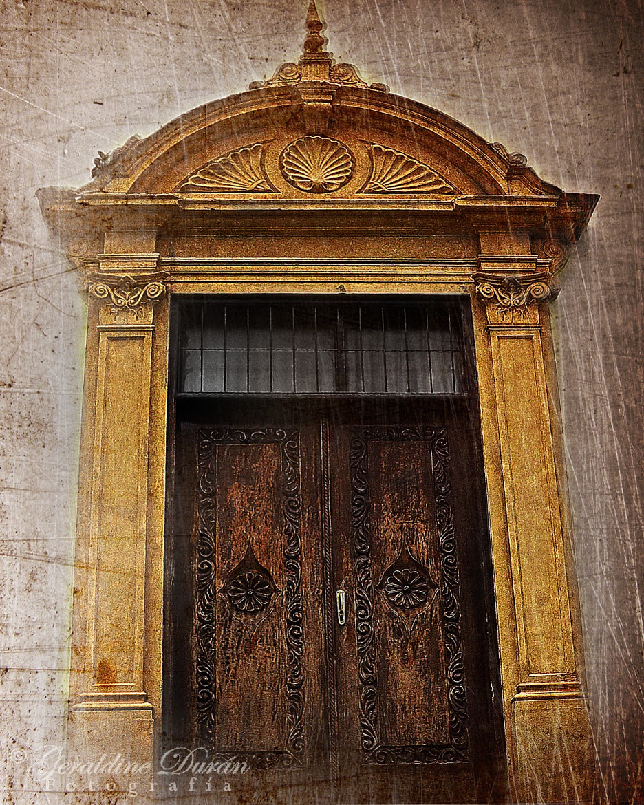 Photograph The Yellow Door by Geraldine Duran on 500px