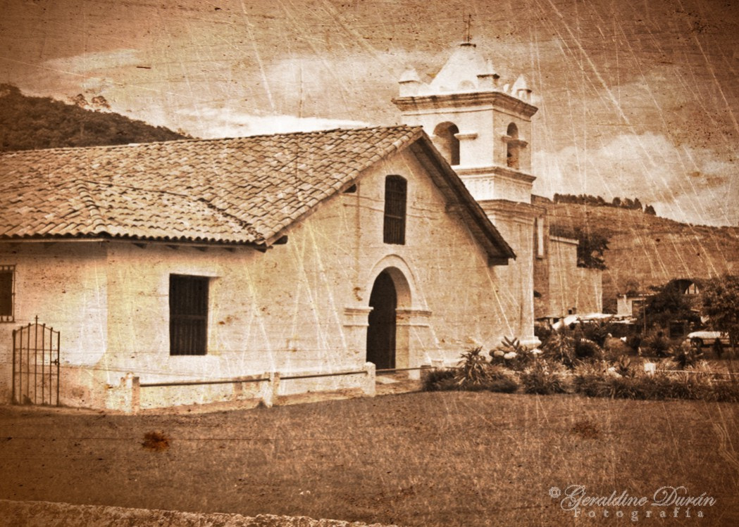 Photograph Orosí Church by Geraldine Duran on 500px