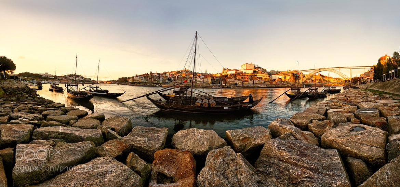 Photograph Panoramic View Ribeira do Porto by jo smomf on 500px