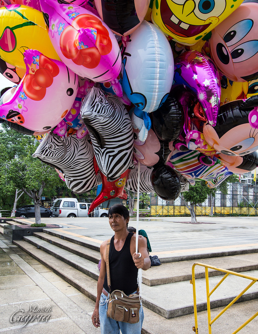 Photograph The Balloon Man by Manish Gajria on 500px