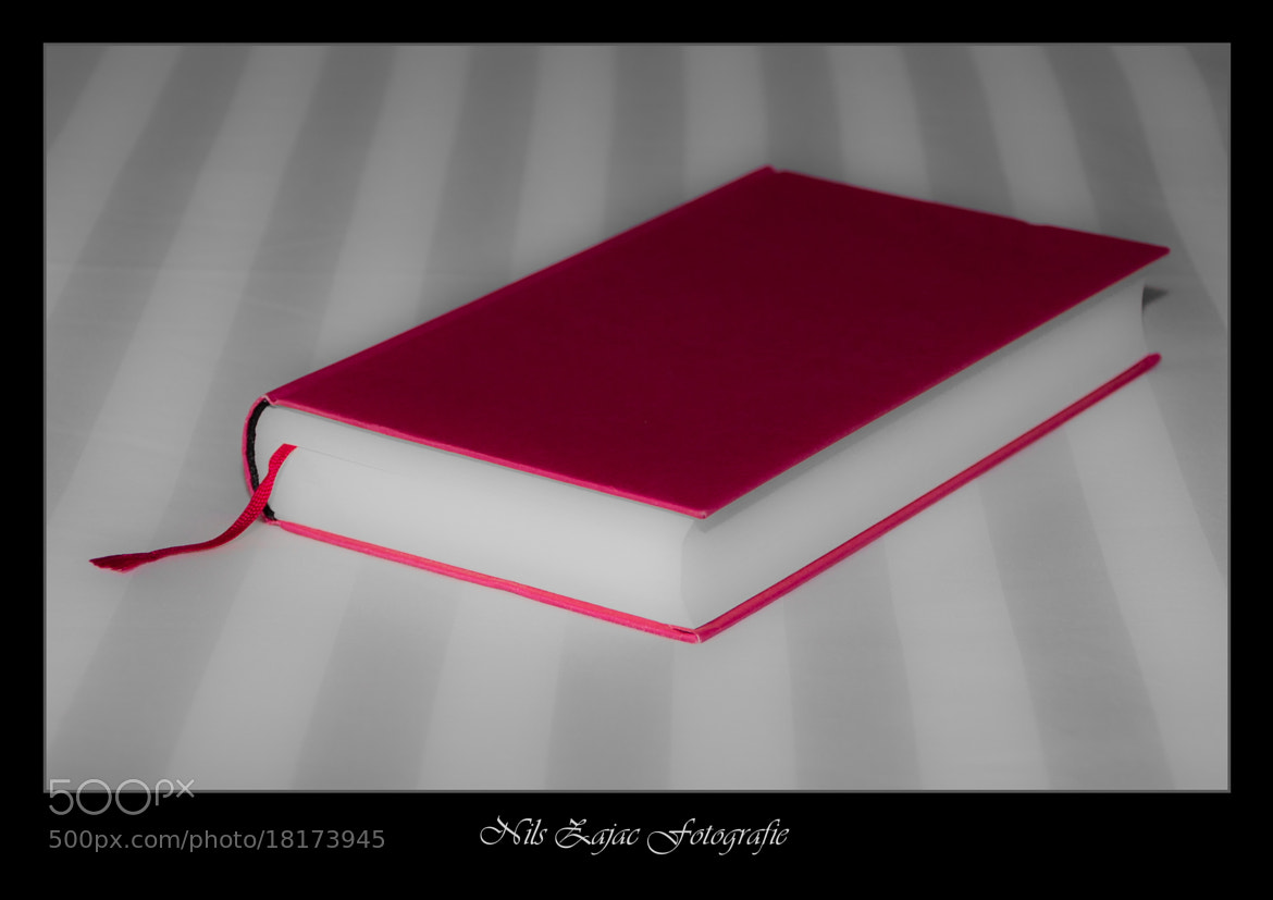 Photograph Just a red book by Nils Zajac on 500px