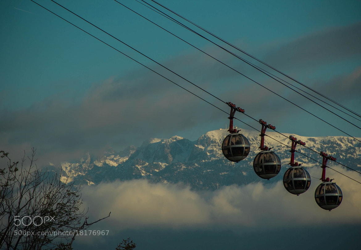 Photograph Bastille-Chamrousse-Grenoble by Christophe Fustinoni on 500px