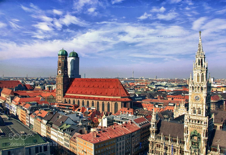 Photograph Skyline Munich by Romina Kutlesa  on 500px