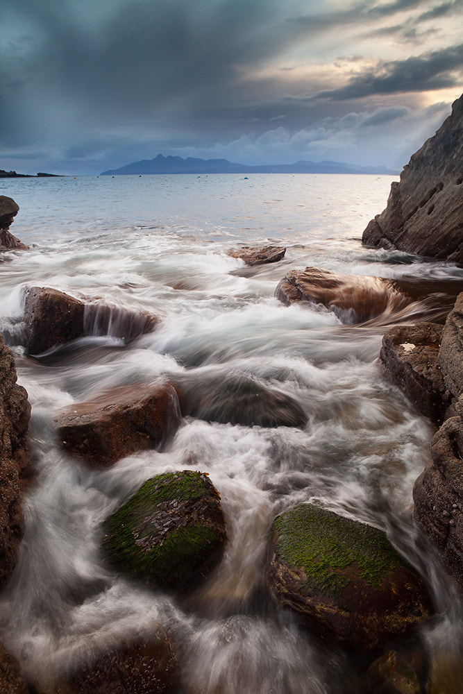 Photograph Green Rocks and Waves by Daniel Hannabuss on 500px