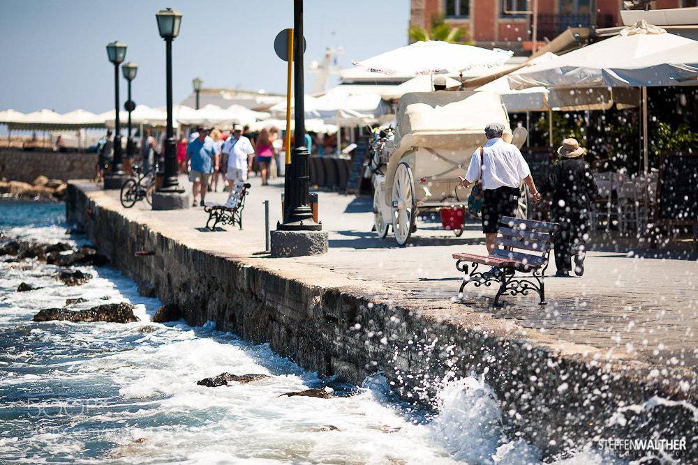 Photograph mediterranean harbor scene by Steffen Walther on 500px
