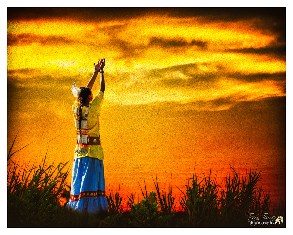Photograph Praying to the Great Spirit by Terry Turner on 500px