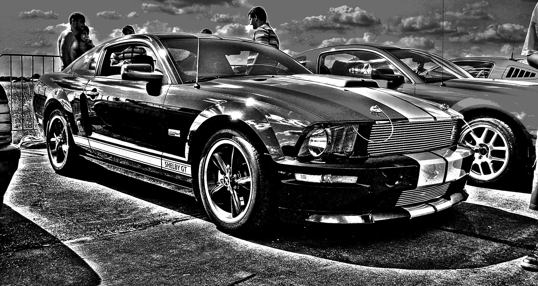 Photograph Mustang GT Shelby by Łukasz Bomber on 500px