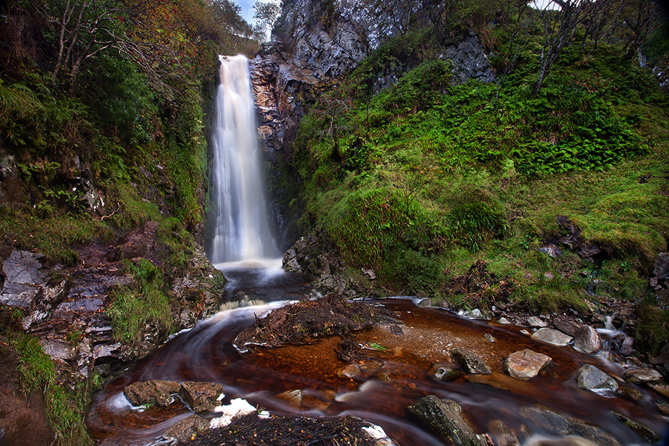 Photograph Glenevin Waterfall by Stephen Emerson on 500px