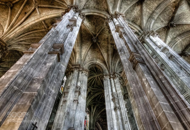 Photograph St-Eustache church, Paris by Eric Vermeil on 500px