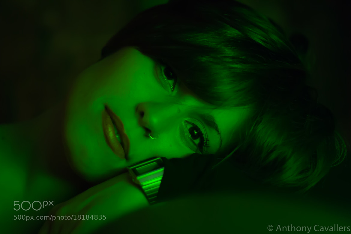 Photograph Green girl. by Anthony Cavallers on 500px