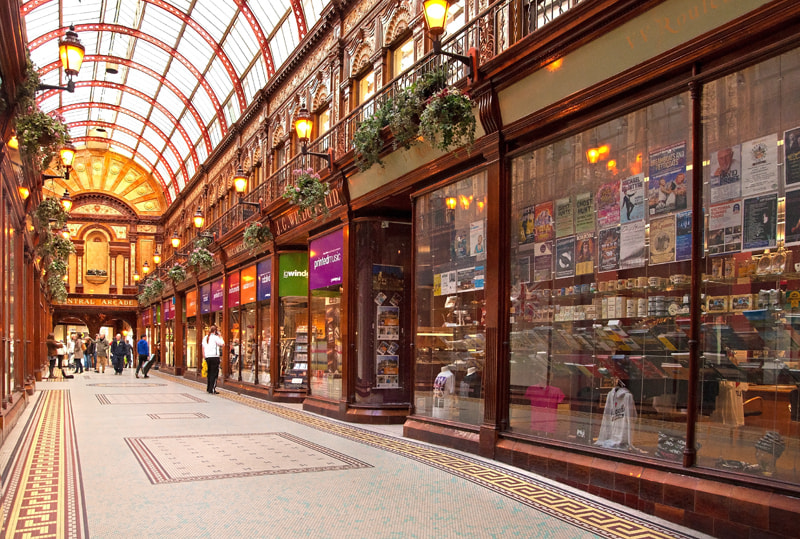 "Photograph  ""Central Arcade"" by Dave Christie on 500px"