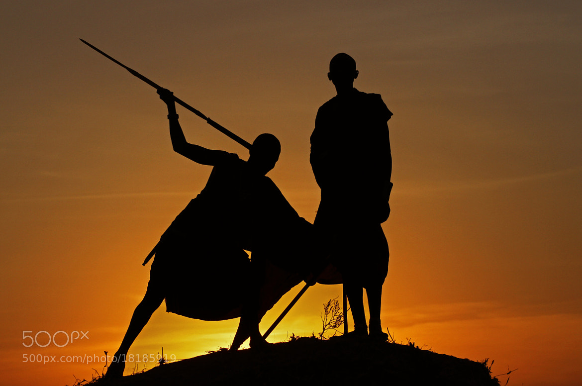 Photograph Masai silhouette by Nir Geiger on 500px