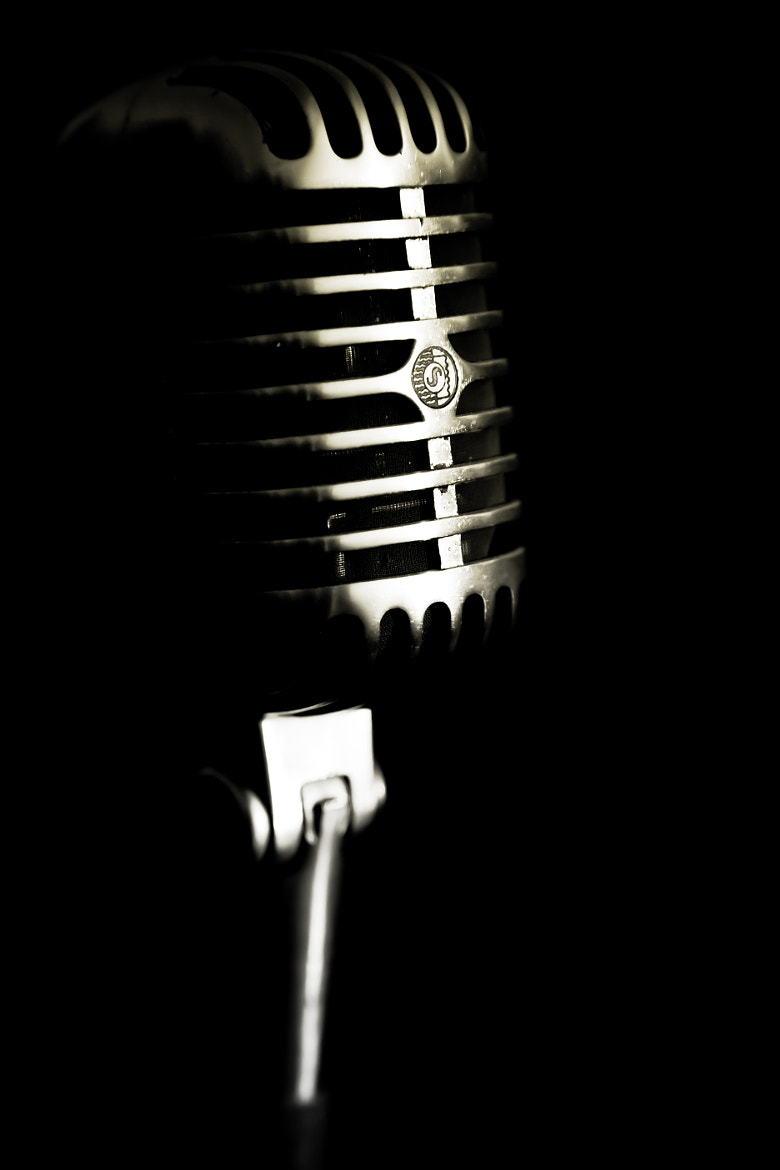 Photograph Dad's old microphone  by Marie-Catherine O'Malley on 500px