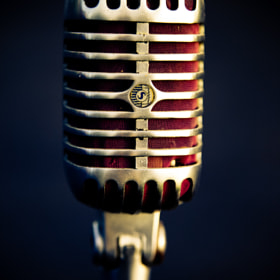 Dad's old Microphone - Color by Marie-Catherine O'Malley (Marie-CatherineOMalley)) on 500px.com