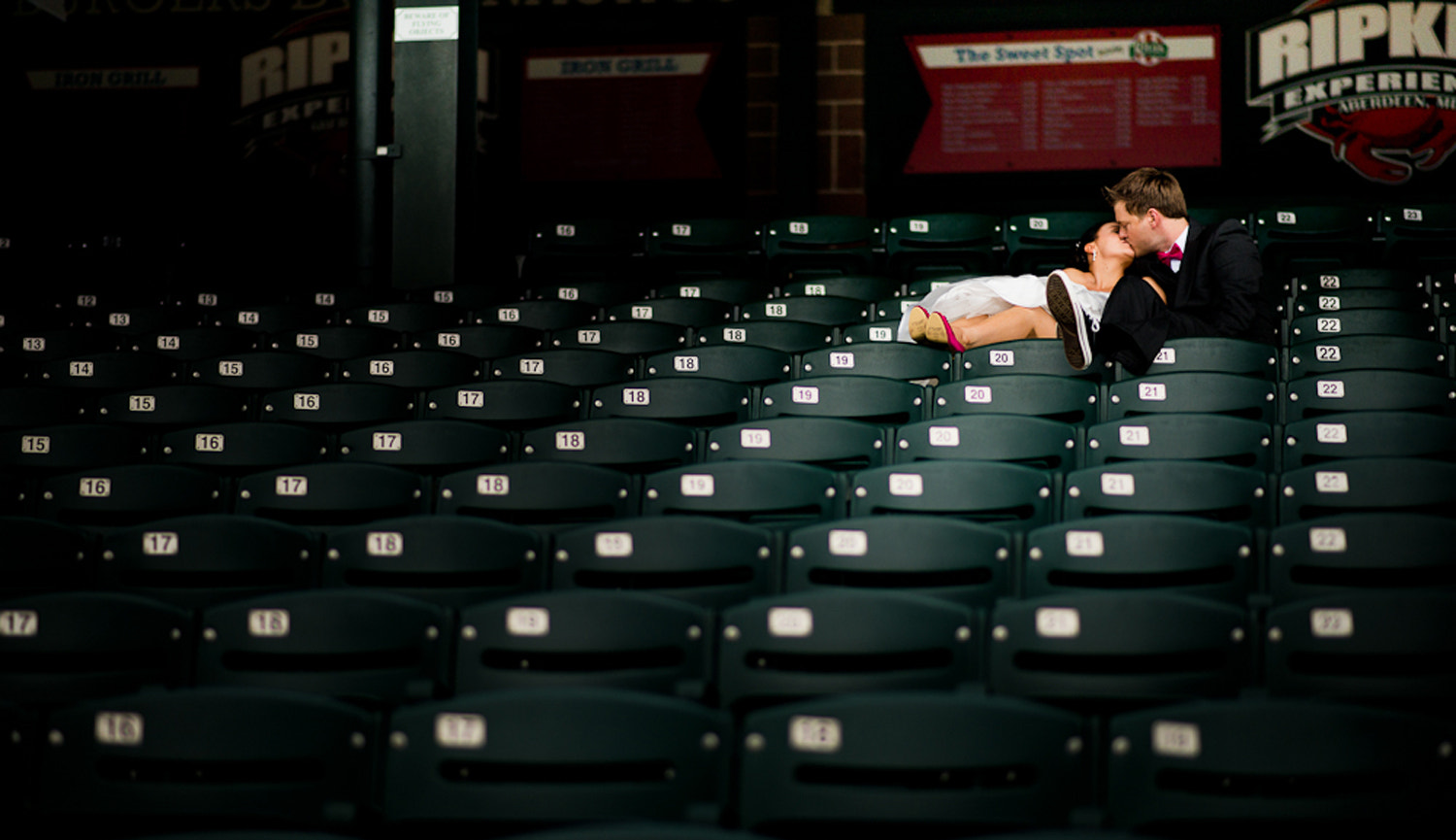 Photograph Alone in the Stands by Chris and Brandy Gronde on 500px