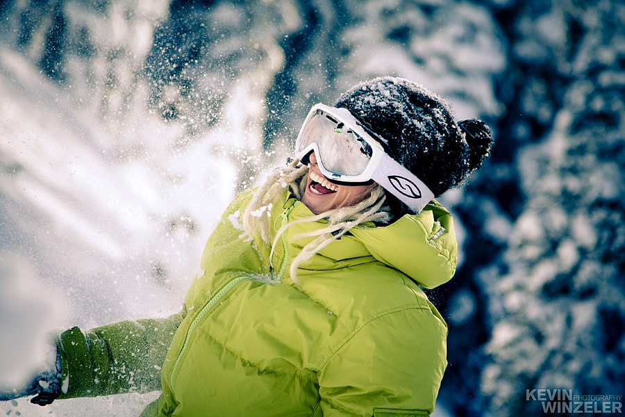 Photograph Winter Smiles by KevinWinzeler.com  ~ sports, lifestyle on 500px