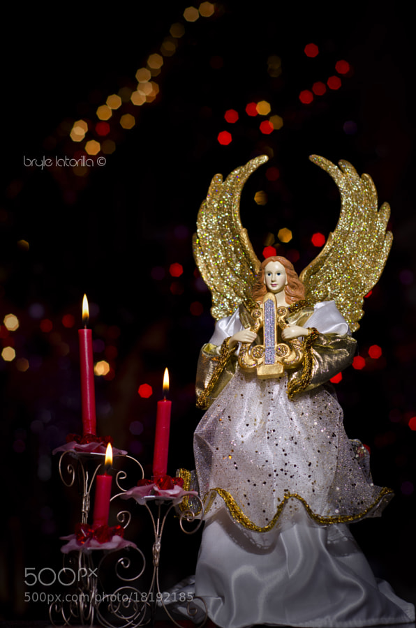 Photograph Christmas Angel by Bryle Latorilla on 500px
