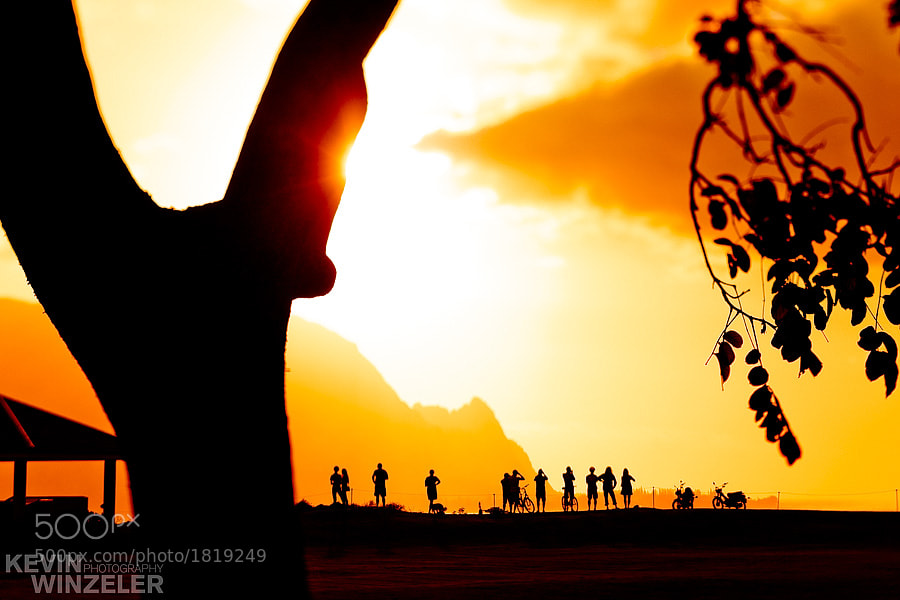 Photograph Sunset in Kauai by KevinWinzeler.com  ~ sports, lifestyle on 500px