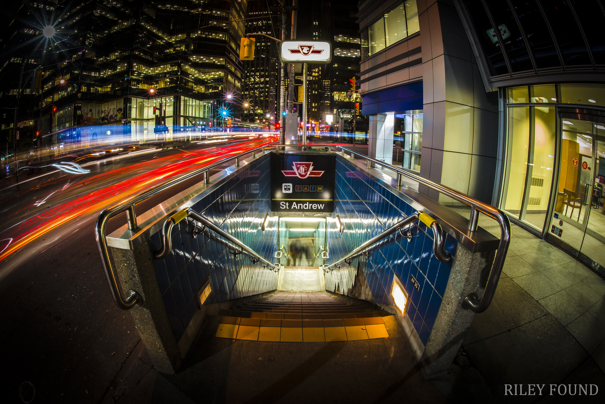 Photograph St. Andrew Subway Station - Toronto by Riley Found on 500px