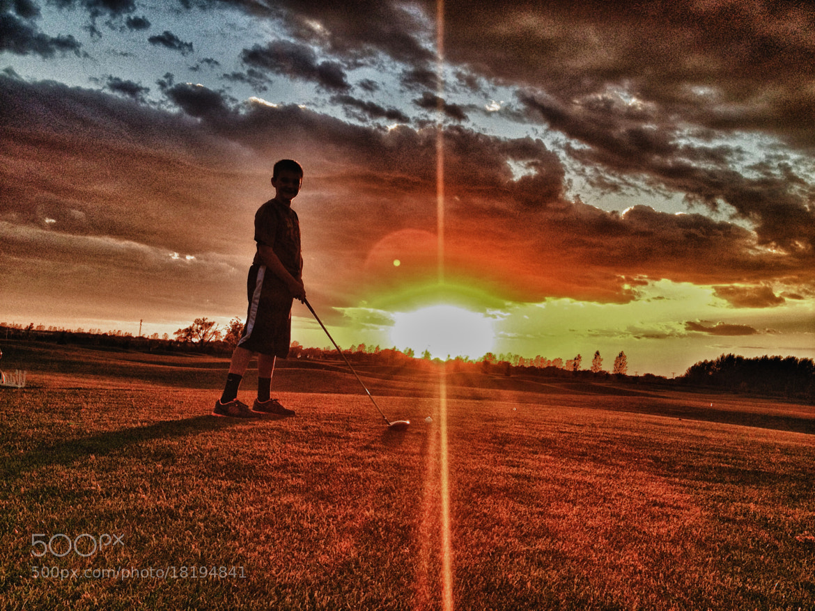 Photograph Golfing at Sunset by Ryan Stahle on 500px