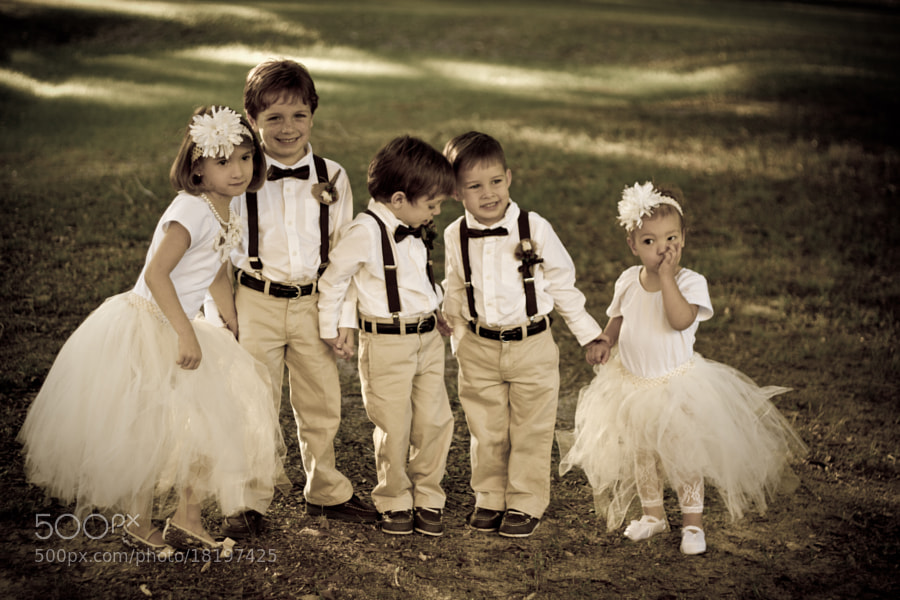 Photograph Mini Bridal party by Tyler Jade O'Banion on 500px