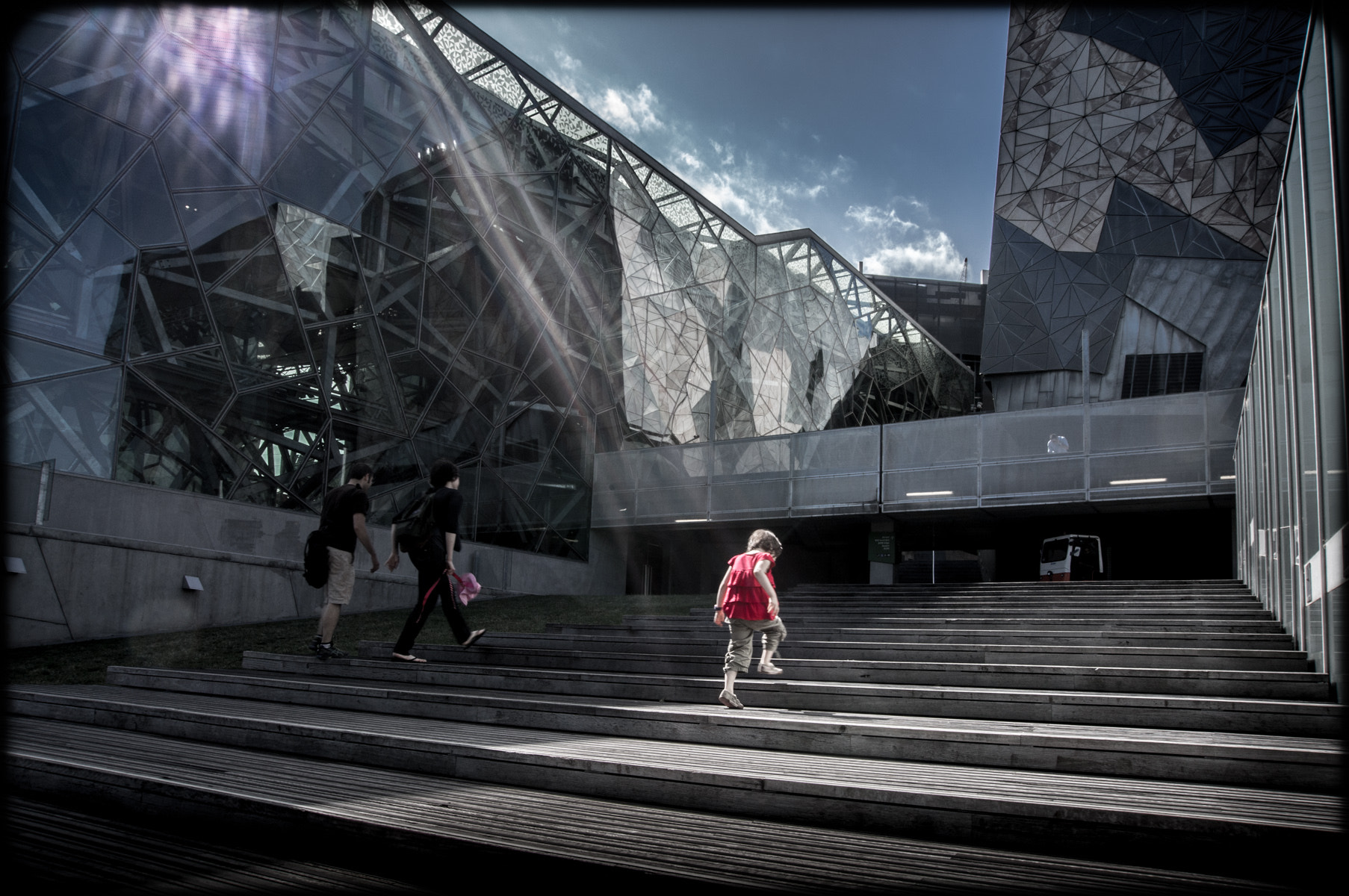 Photograph Federation Square by Mark Galer on 500px