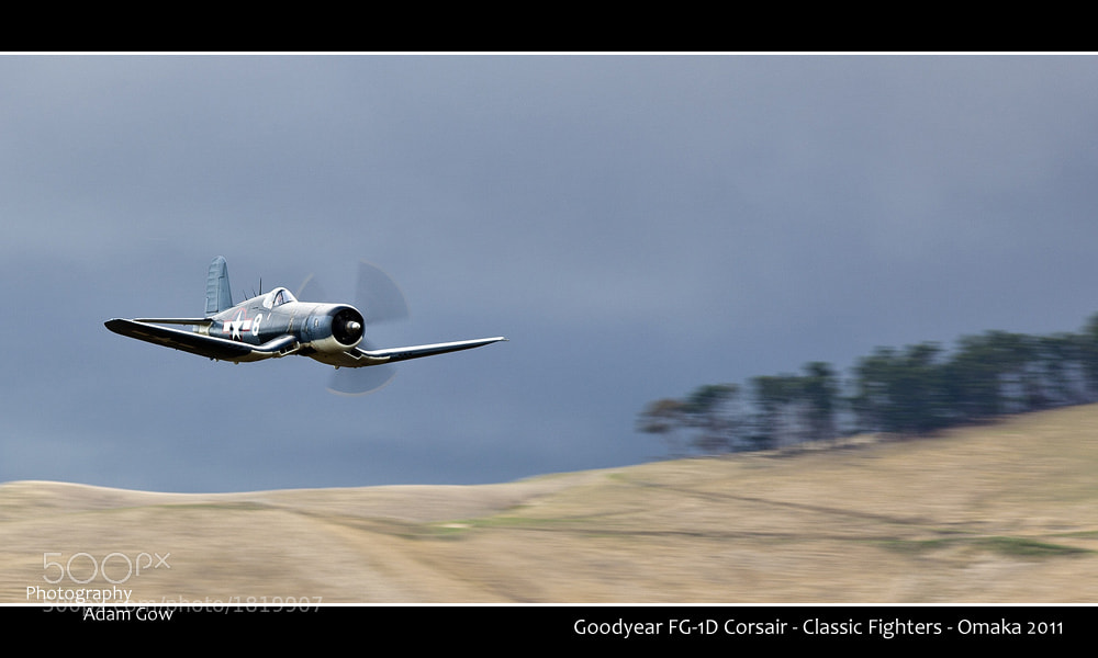Photograph Classic Fighters - Corsair by Adam Gow on 500px