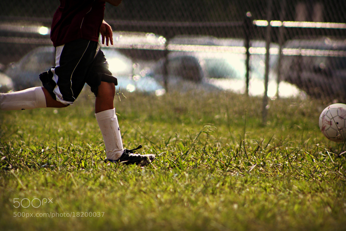 Photograph He Kicks, He Scores by Kaylee Walding on 500px