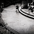 montmartre ...my son had a spectacular fall, 1 second after the shot