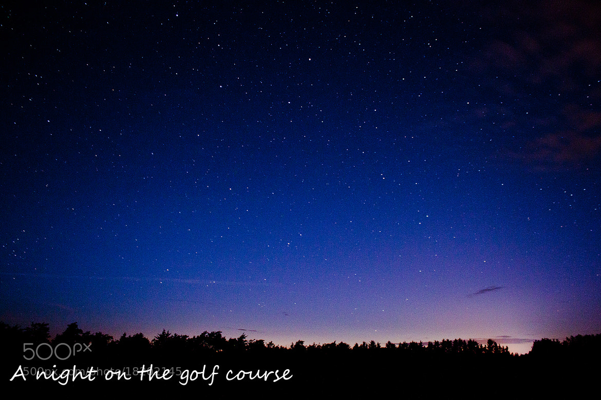 Photograph A night on the golf course by Nikolai Alex Petersen on 500px