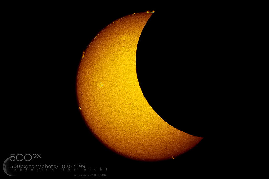 Photograph Crescent Sun by Greg Gibbs on 500px