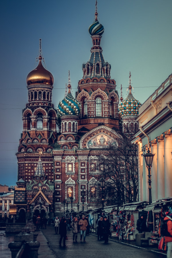 The Church of the Savior on Blood - St Petersburg by Jet Set Brunette Photography on 500px.com
